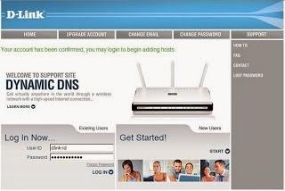 Panduan Cara Setting Dynamic DNS