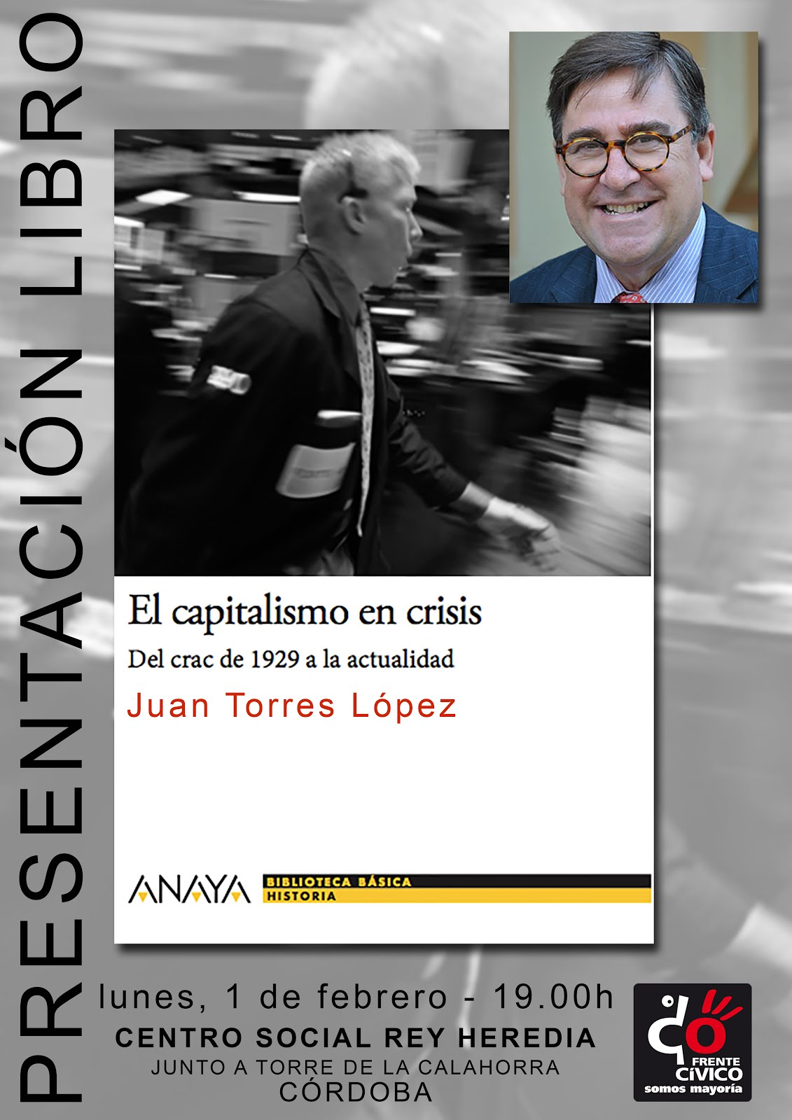 Presentación libro Juan Torres