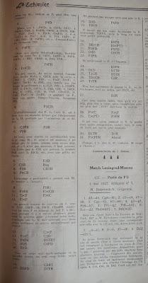 Información sobre el I Torneo Nacional de Ajedrez de Murcia 1927 en L'Echiquier, junio de 1927 (2)