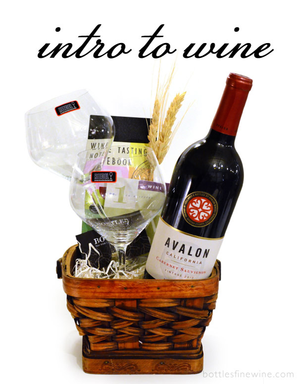 Introduction Beginners Wine Gift Basket Rhode Island