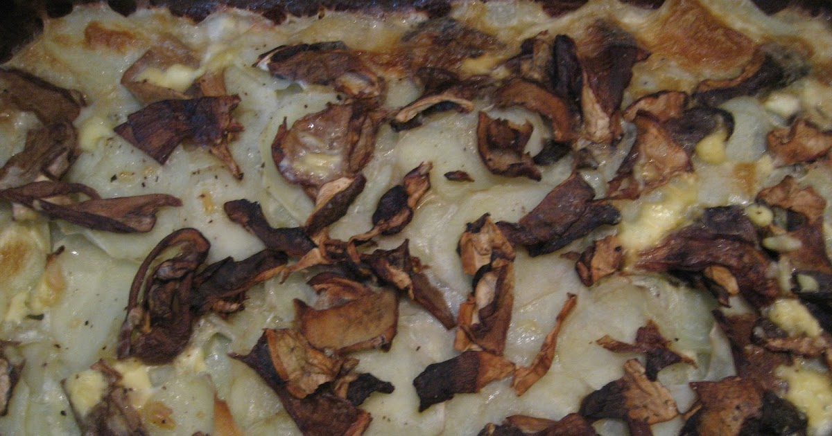 Imparando a cucinare gratin patate e funghi porcini for Cucinare funghi