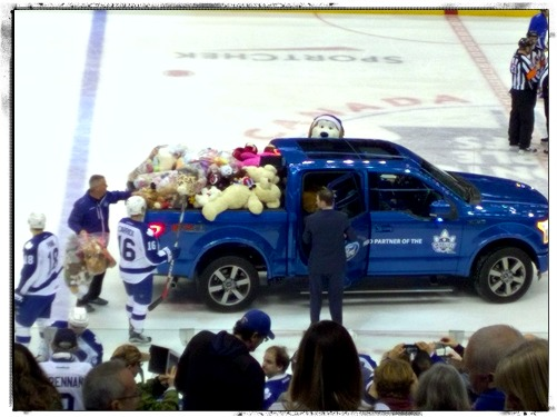 Toronto Marlies Teddy Bear Toss