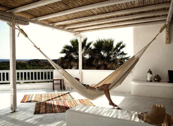 Icono interiorismo hamacas el complemento perfecto para - Hamacas para terraza ...