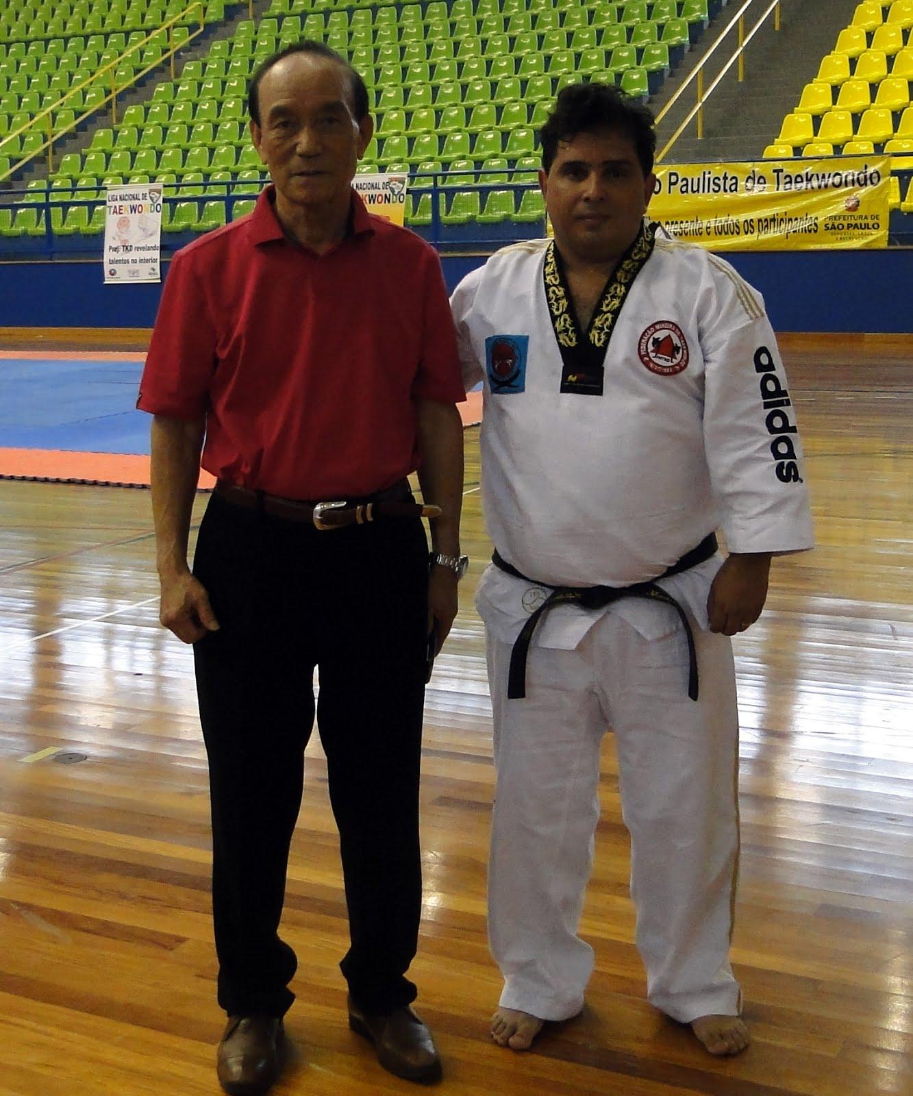 Grão Mestre San Mi Cho
