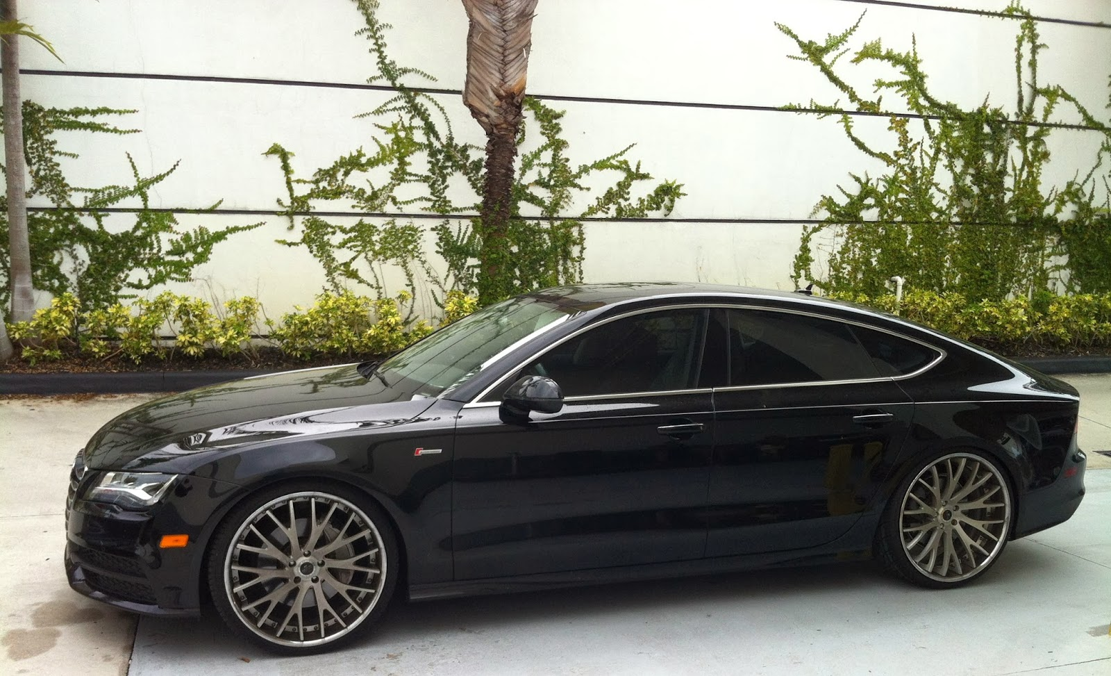 Audi A7 With Savani Rims Exotic Cars On The Streets Of Miami
