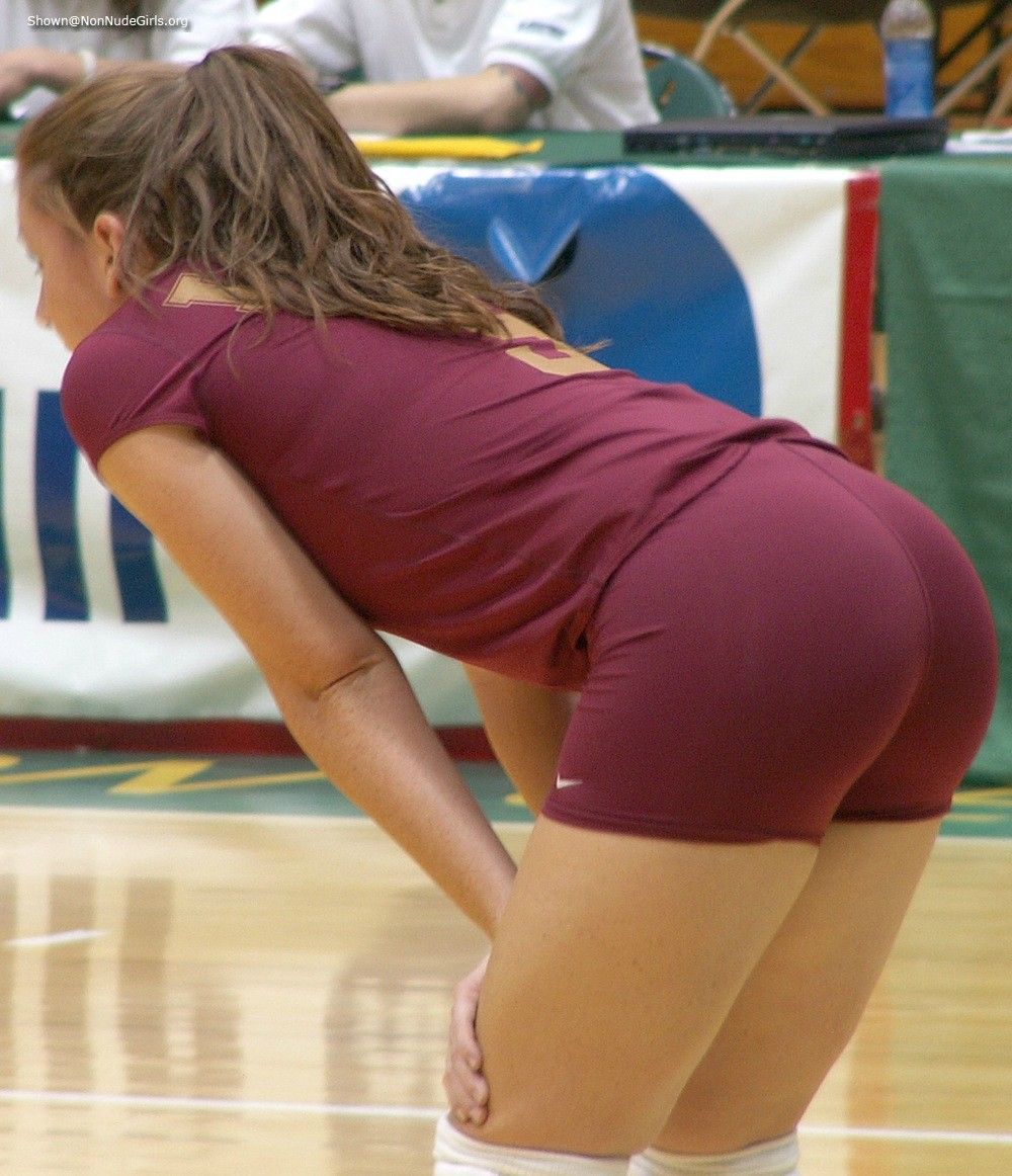 Porqe folla volleyball ass butt shorts wedgie need beautiful