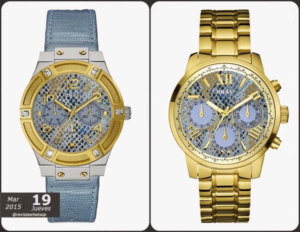 Desierto-Dorado-tendencia-relojes-GUESS-mujeres-salvajes-corazón