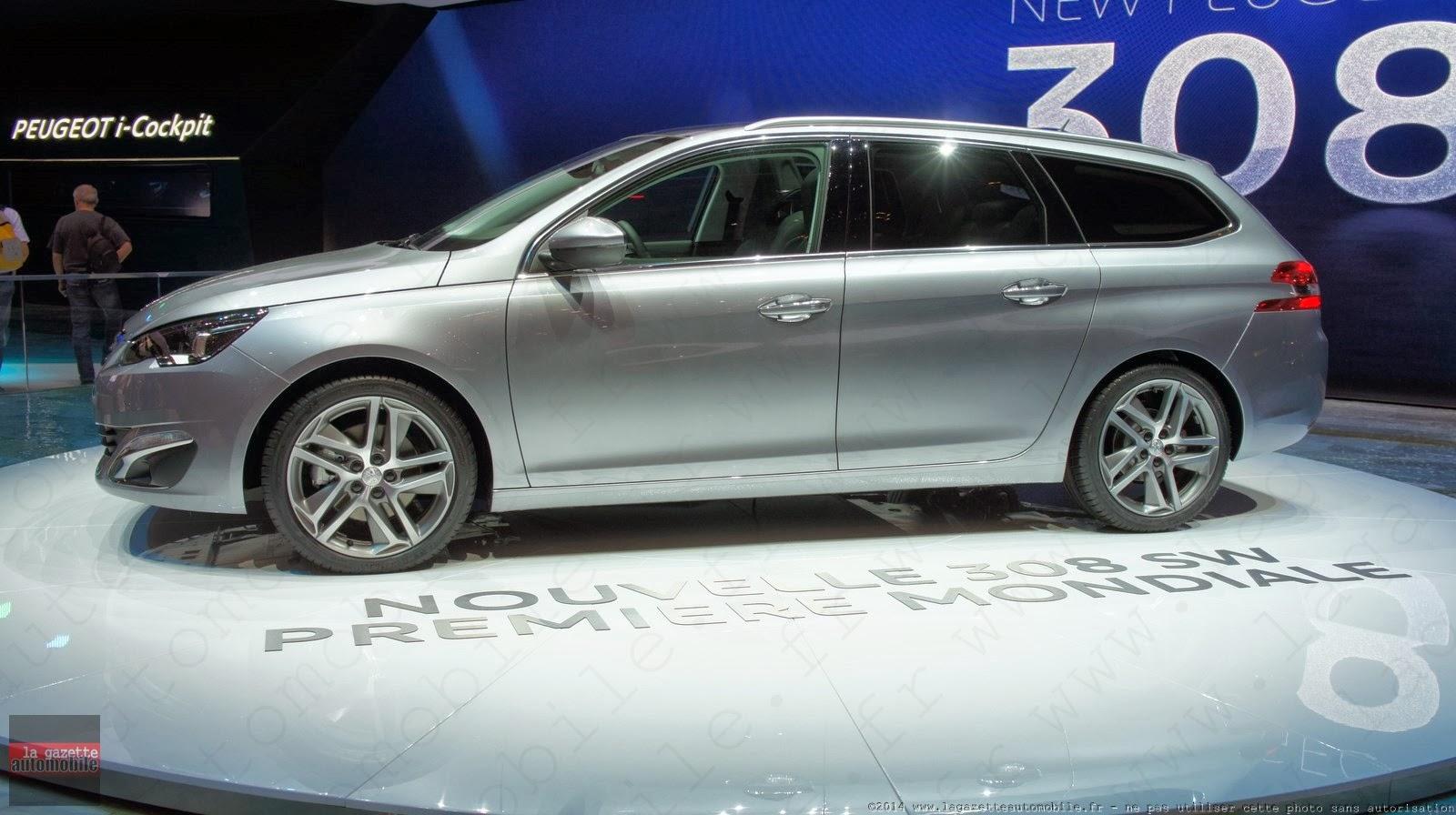 Genève : Peugeot 308 SW