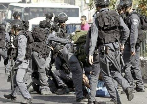 Tropas terrorristas de Israel
