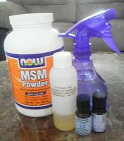 Le MSM dans mes produits de beauté (1ère partie)