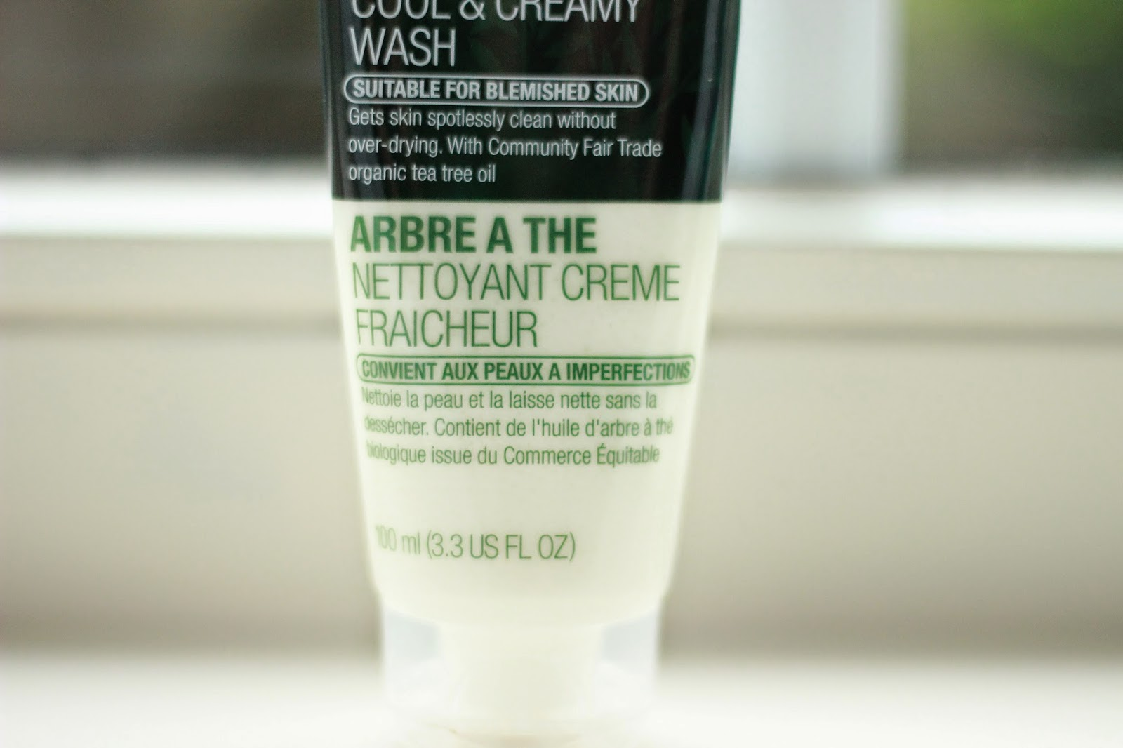 review ervaring the body shop tea tree cool & creamy wash