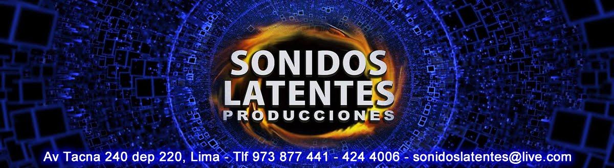 SONIDOS LATENTES PRODUCCIONES