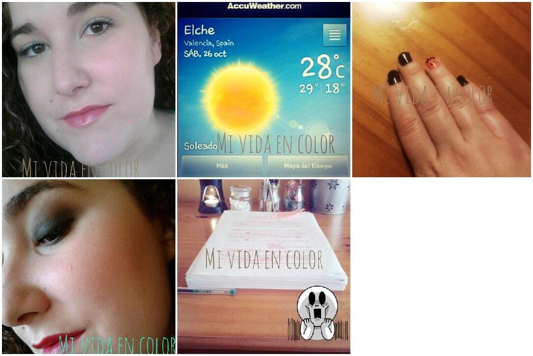 my-month-on-pictures-october-13'-blog-belleza-makeup- personal- look-verde-pastel-labios-rosas-fotd-tiempo-elche-26 octubre.Alicante-uñas-halloween-calabaza-uñas-look-verde-apuntes-estudio-historia-contemporánea-de-españa