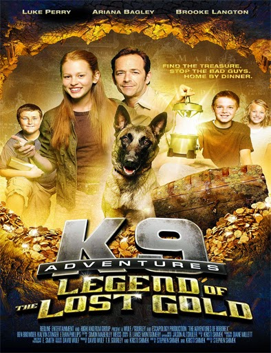 Ver K-9 Adventures: Legend of the Lost Gold (2014) Online