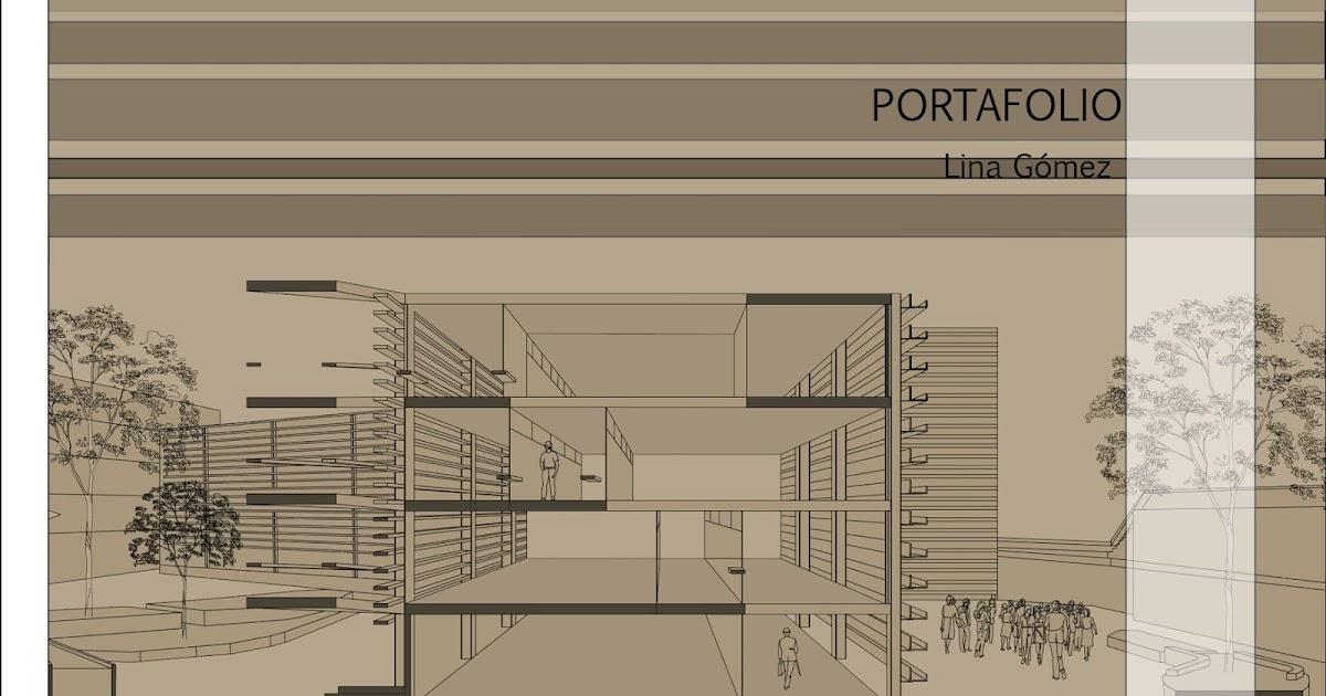 Portafolio de arquitectura lina g mez portafolio for Portadas de arquitectura
