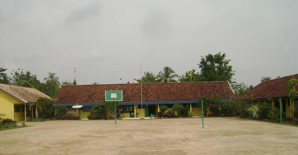 Sisi Selatan Lapangan Basket Smp Negeri Megang Sakti