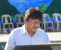 Jalandoni Giving a Talk