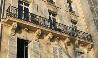 Balcon du 16 quai d'Orléans à Paris
