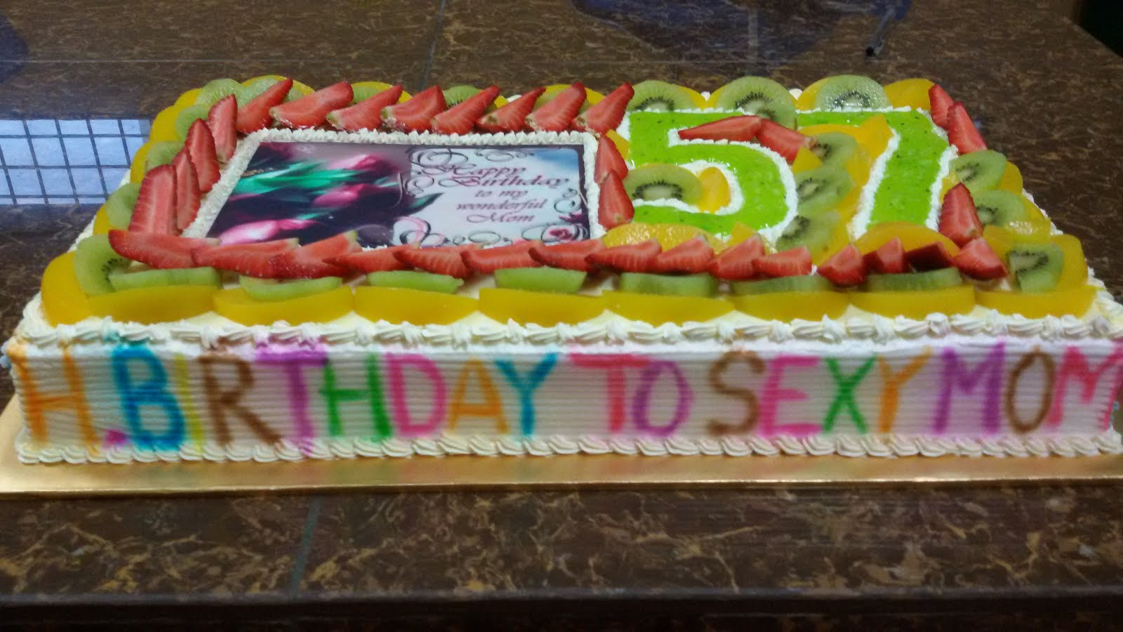 fruits cake 4 mom