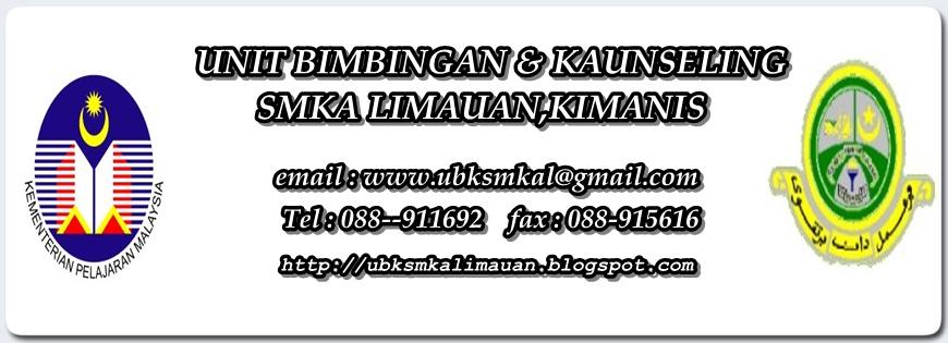 UBK SMK Agama Limauan