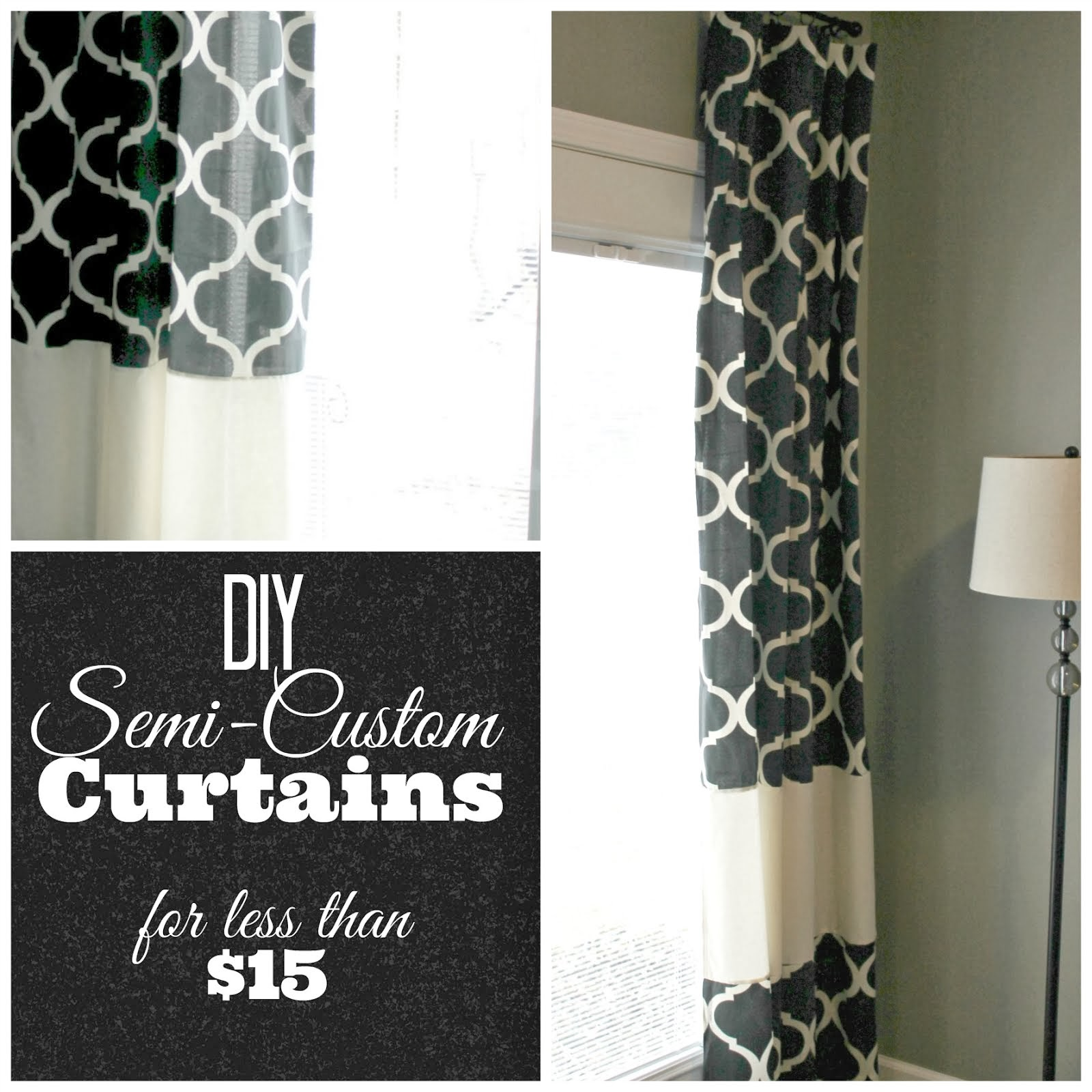 DIY Semi-Custom Curtains