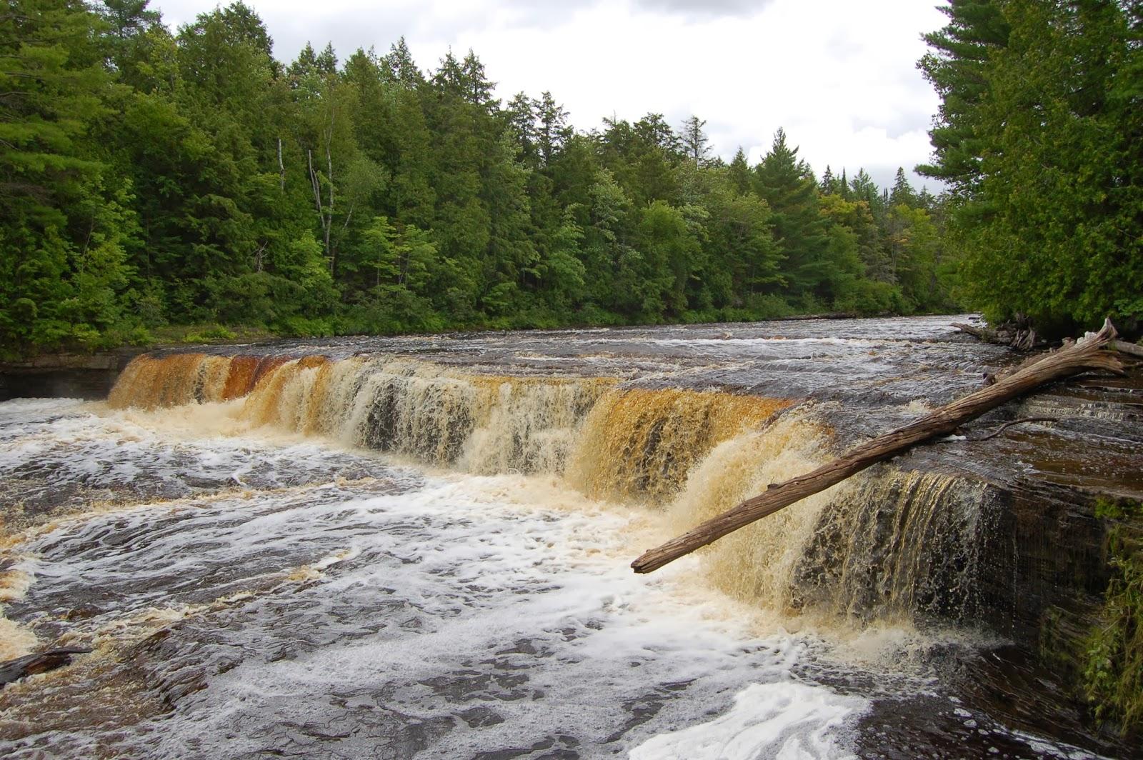 Lower Tahquamenon Falls Paradise Michigan