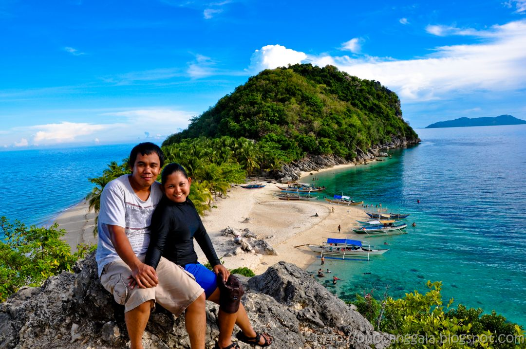 how to go to caramoan island by plane