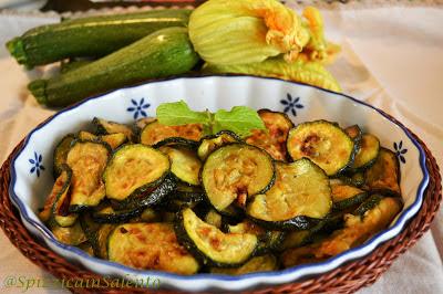 zucchine alla