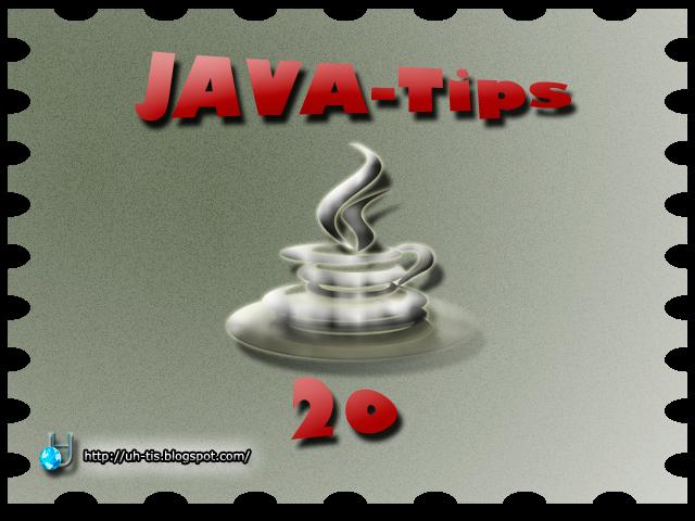 Imagen del capítulo número 20 de JAVA-Tips