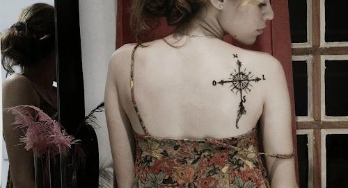 Top 21 Tatuagem de Rosa Dos Ventos