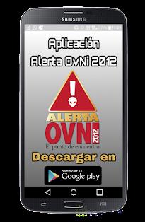 """APLICACIÓN """"ALERTA OVNI 2012"""""""
