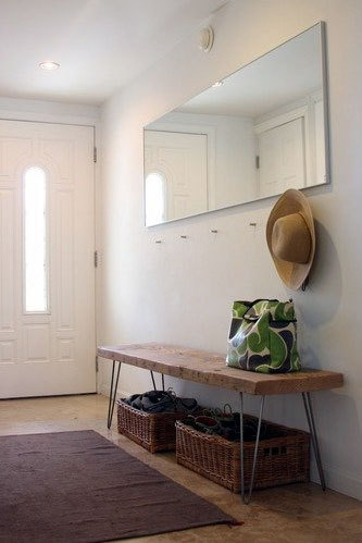 Hall de entrada reciclar e decorar blog de decora o e reciclagem - Entryway decorating ideas for small spaces minimalist ...