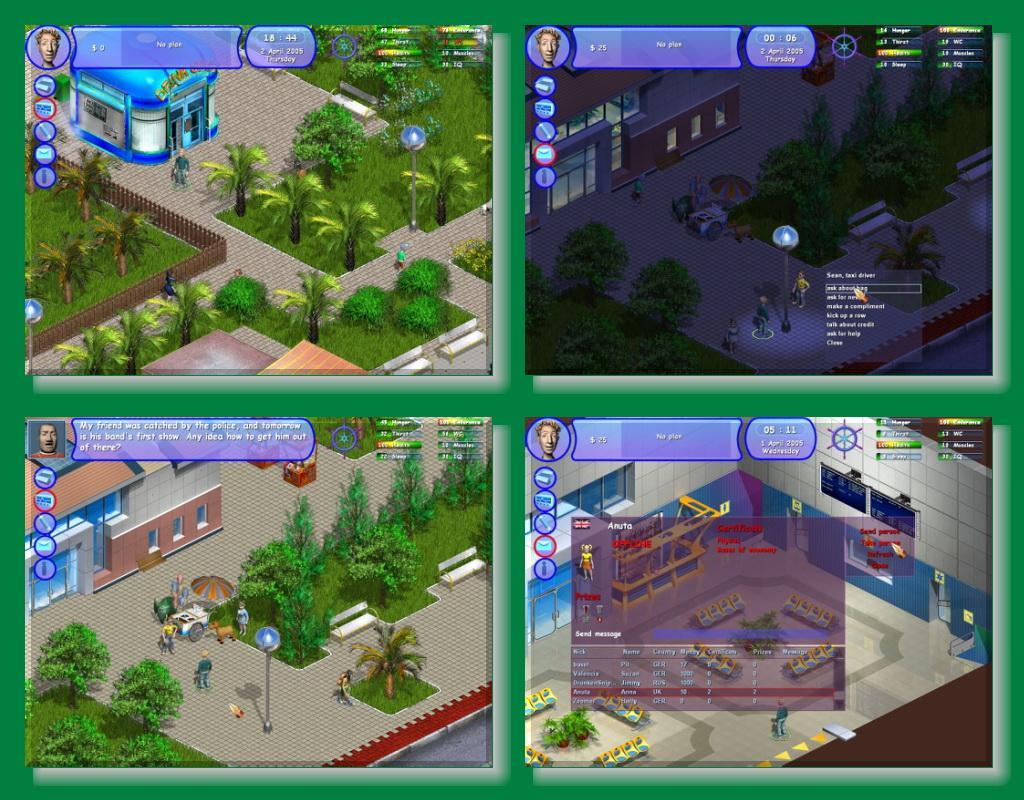 virtual simulation dating games