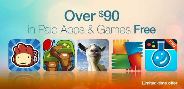 Amazon Appstore Gives Away $90 Worth of Apps, Includes Goat Simulator and Scribblenauts Remix