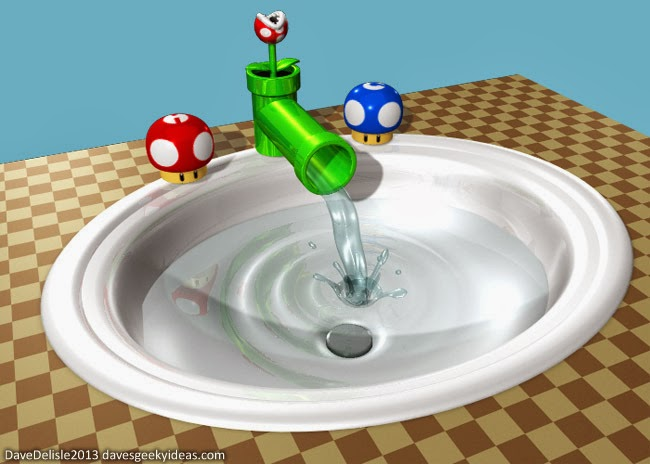 Mario Bathroom Set Design Ideas