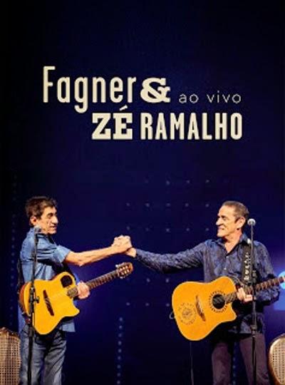 DVD Fagner e Zé Ramalho Ao Vivo