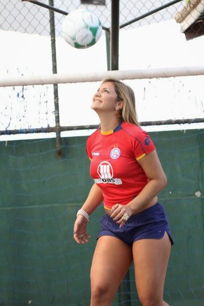 Musa do Esporte Clube Bahia, Rianne Santos