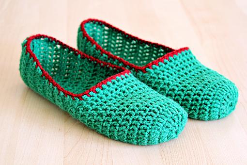 Free Crochet Pattern To Make Slippers : Vanecroche e patch: Sapatilha de croche com passo a passo