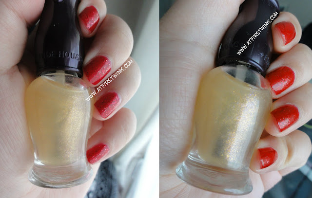 Etude House Petit darling nails HD beam fantastic pearl top coat bottle