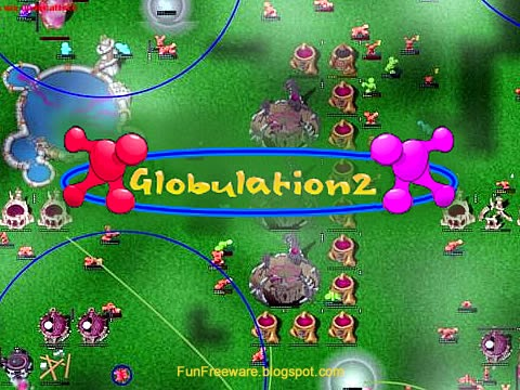 Globulation 2 - GNU RTS Splash Image