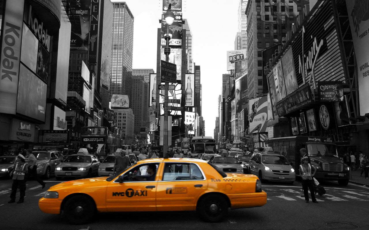 One of the known yellow cabs