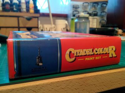 Citadel Colour Paint Set 1994 - Side Closed