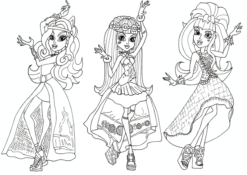 Free 13 Wishes Haunt The Casbah Coloring Page title=