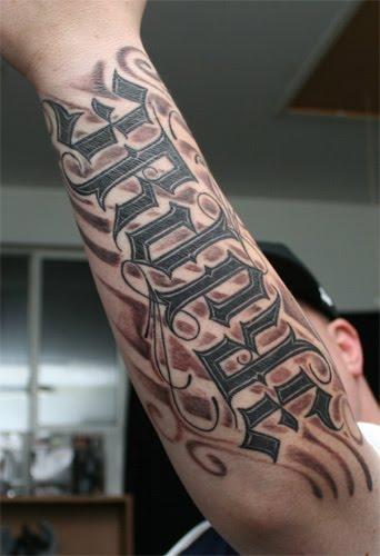 Tato Tangan Keren Untuk pria