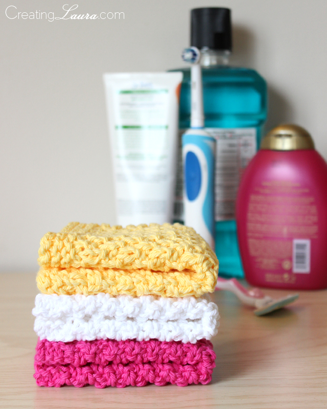 Creating Knitting Patterns : Creating Laura: Washcloth Knitting Pattern