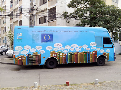 Library bus Bangkok World Book Capital 2013