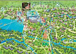 Center Parcs Het Meerdal Parkplan