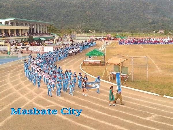 Palarong Bicol 2014 Masbate City Delegation