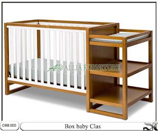 Tempat tidur baby box balita clas