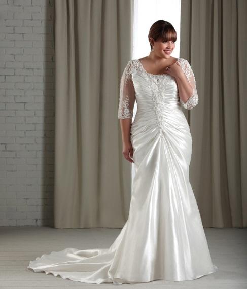 vestidos de novia para tallas extra